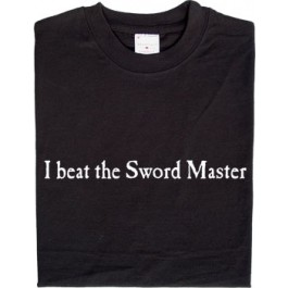 I beat the Sword Master