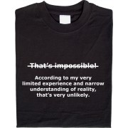 That is impossible